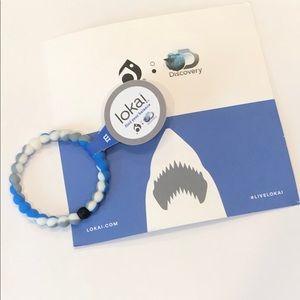 Shark Lokai Bracelet with Info Card